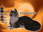 Shadowpaw of ShadowClan - Lost Stars