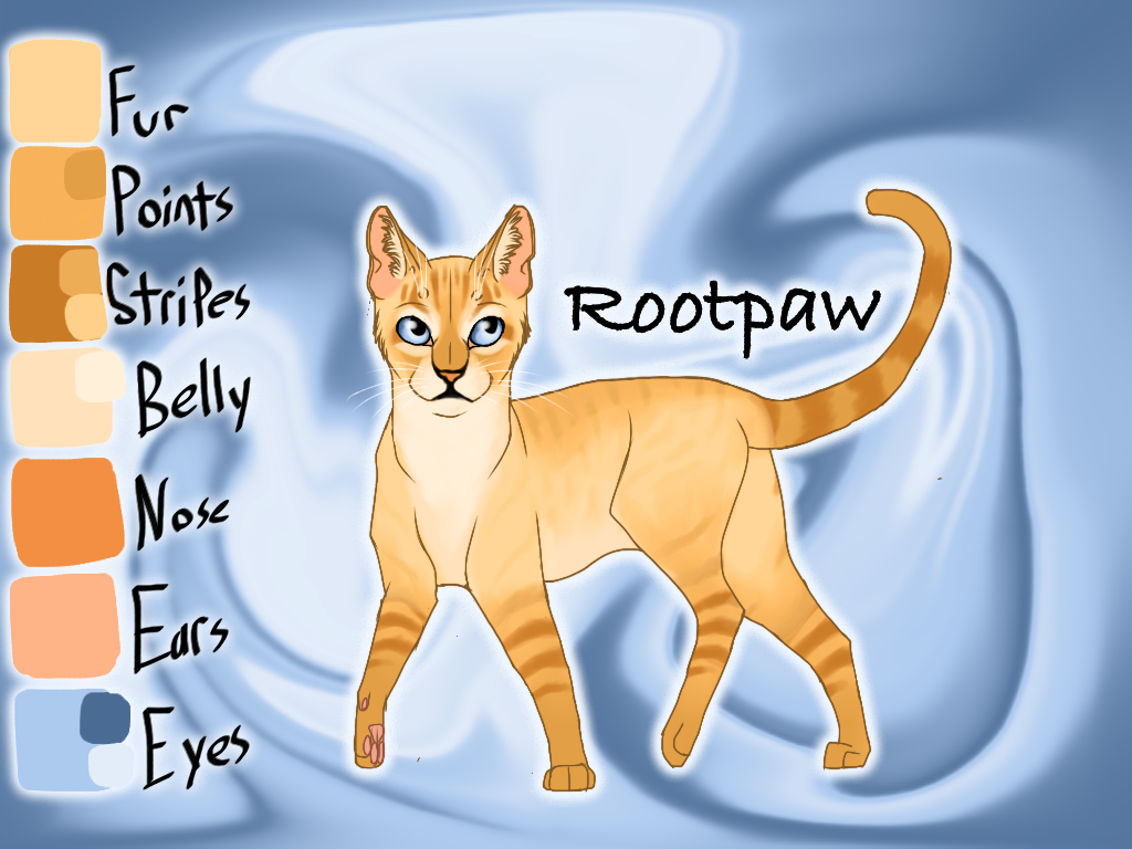 Rootpaw of SkyClan - Lost Stars by Jayie-The-Hufflepuff