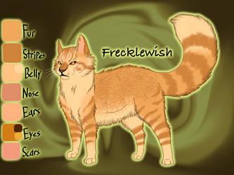 Frecklewish of ThunderClan - Mapleshade's Vengeanc by Jayie-The-Hufflepuff