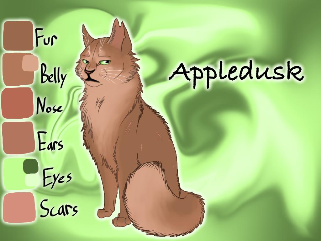 Appledusk of RiverClan - Mapleshade's Vengeance by Jayie-The-Hufflepuff