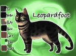 Leopardfoot of ThunderClan - Bluestar's Prophecy