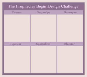 The Prophecies Begin Design Challenge - Template