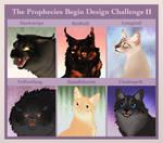 The Prophecies Begin Design Challenge II
