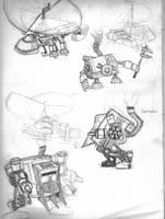Sketchbookery 3: Vinci by Bronze-Corsair