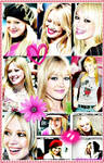 Hilary Duff collage
