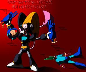 Insane BPM kills Megaman