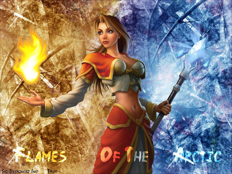 WoW Mage Wallpaper by tauh5656 on DeviantArt