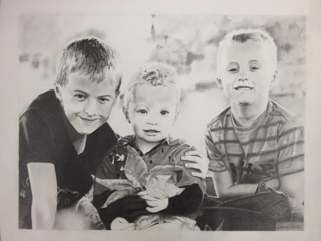 My Three Sons by JamesObert