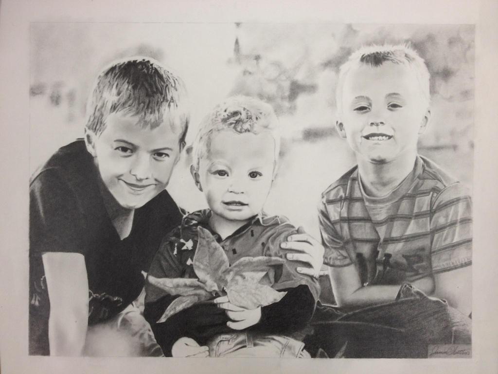 My Three Sons by JamesObert
