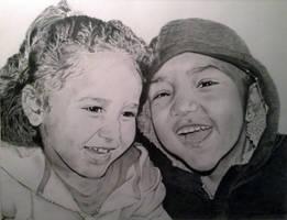 Shayne and Peyton by JamesObert