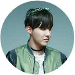063 | Green Hoseok Circle Decor by MarytahDashPointBank