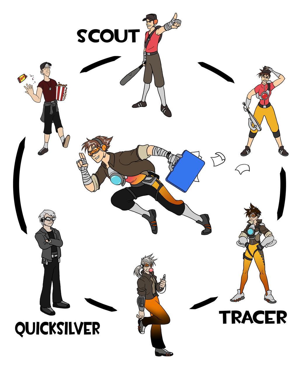 Runners Hexafusion by The-Other-Owl on DeviantArt