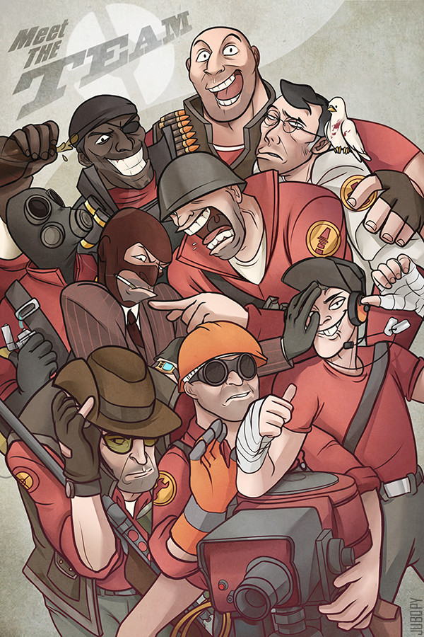 Russian Meet Team Fortress Team 97