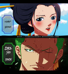 Zoro and Robin  One Piece Chapter 909 by IITheLuciferII