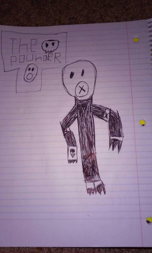 The Pounder  by AJTheFireGod9000