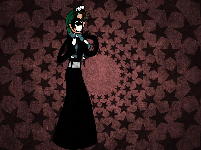 Slenderwoman and Lu by Zelda-muffins