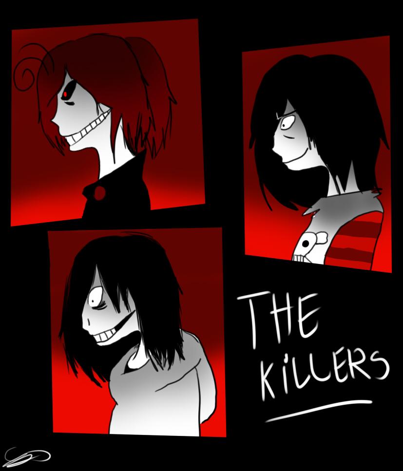 The killers .:+Speedpaint:. by Zelda-muffins