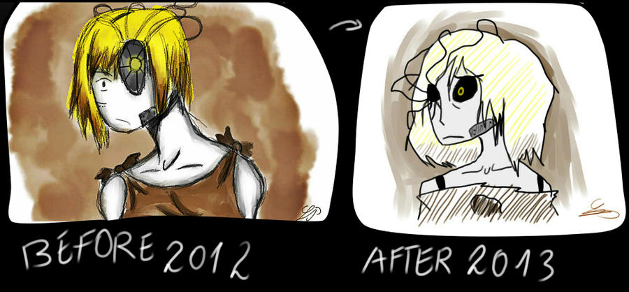 Before after by Zelda-muffins
