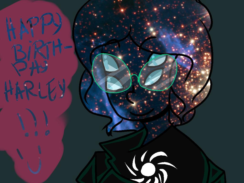 Happy birth day Harley! by Zelda-muffins