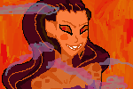 Wrathia pixel icon! Free to use by Zelda-muffins