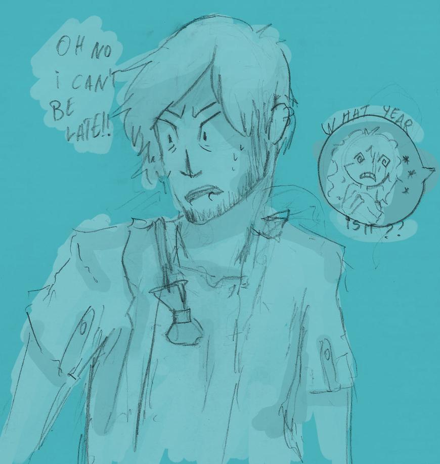 Om my time! by Zelda-muffins