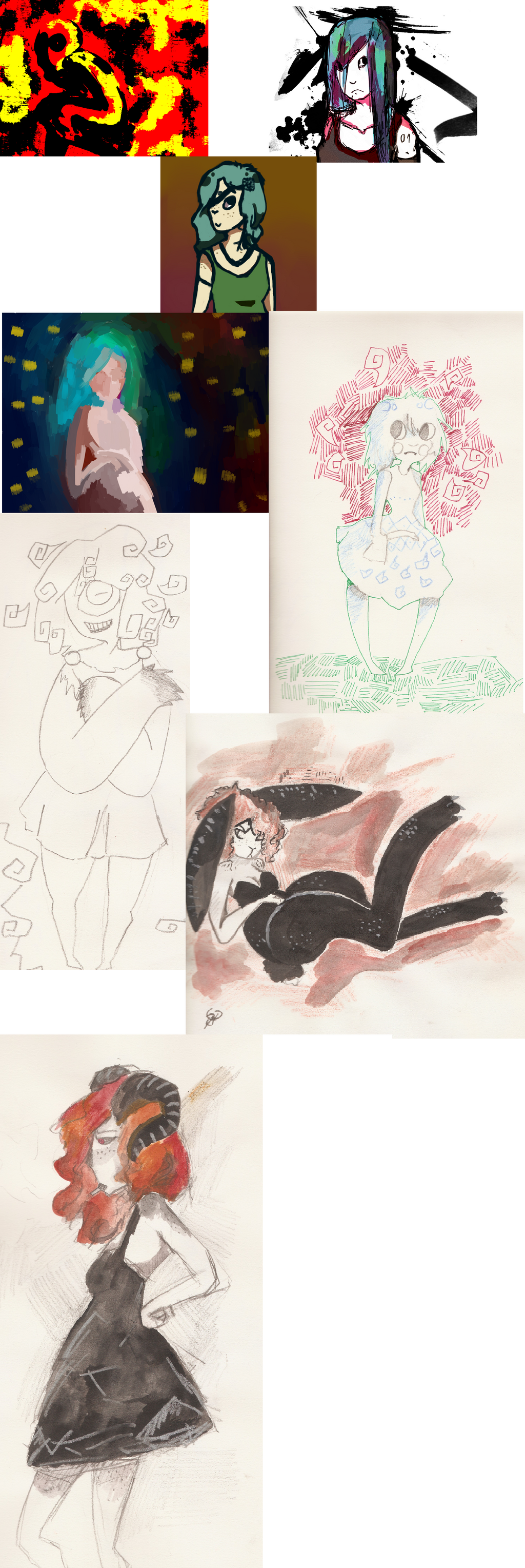 Drawings and dumb stuff by Zelda-muffins