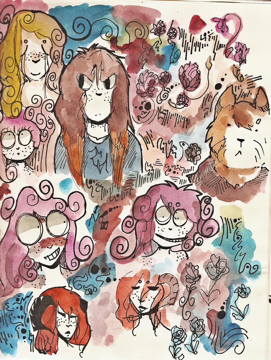 Doodles by Zelda-muffins
