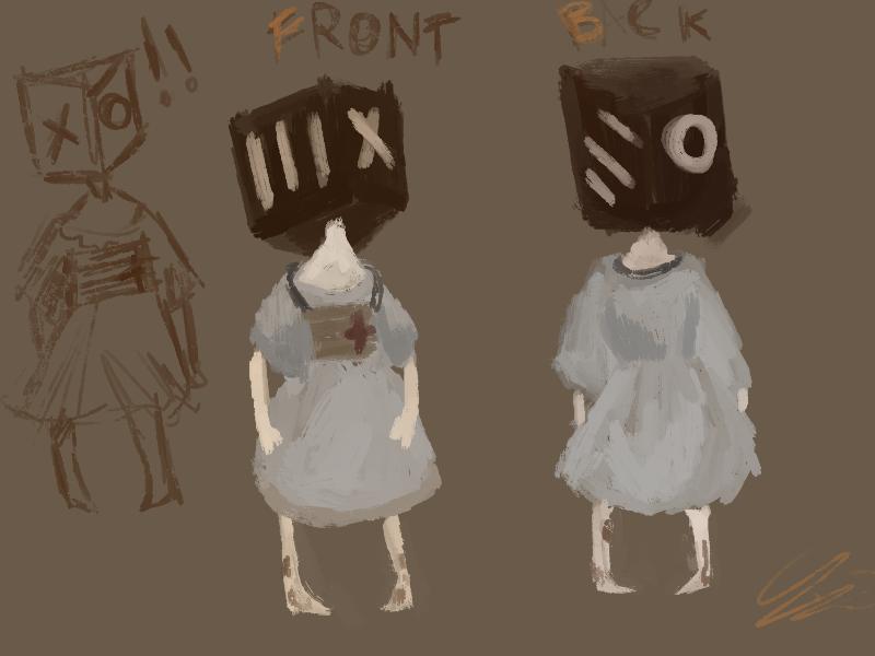 {Box head} by Zelda-muffins