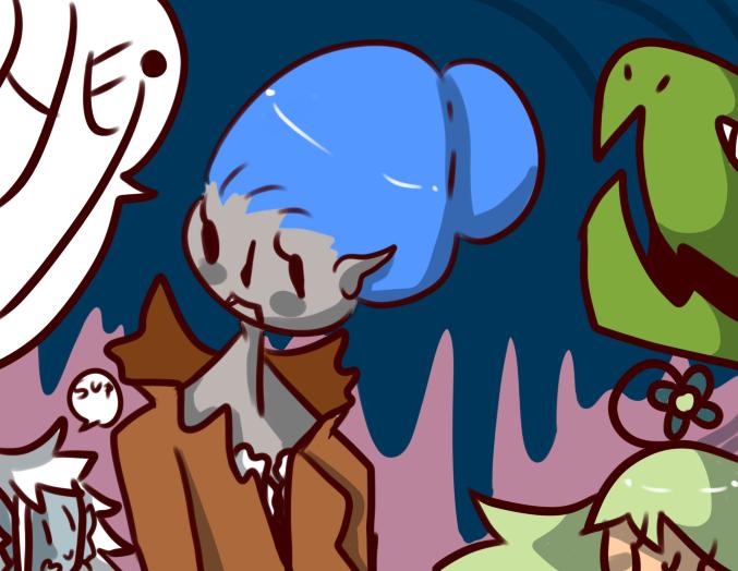 halloween doddle by Zelda-muffins