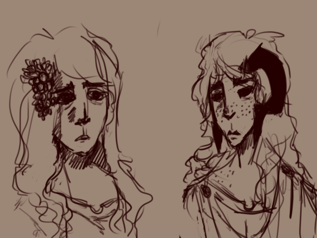 portrials {Gunda and liz} by Zelda-muffins