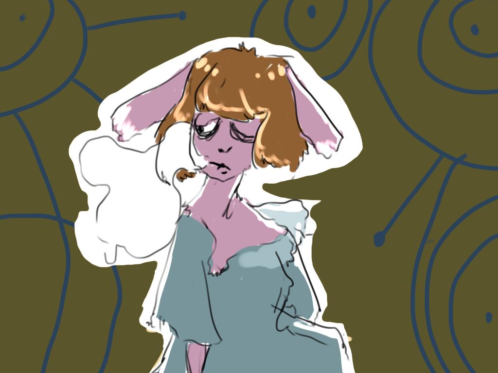 bunny boo by Zelda-muffins