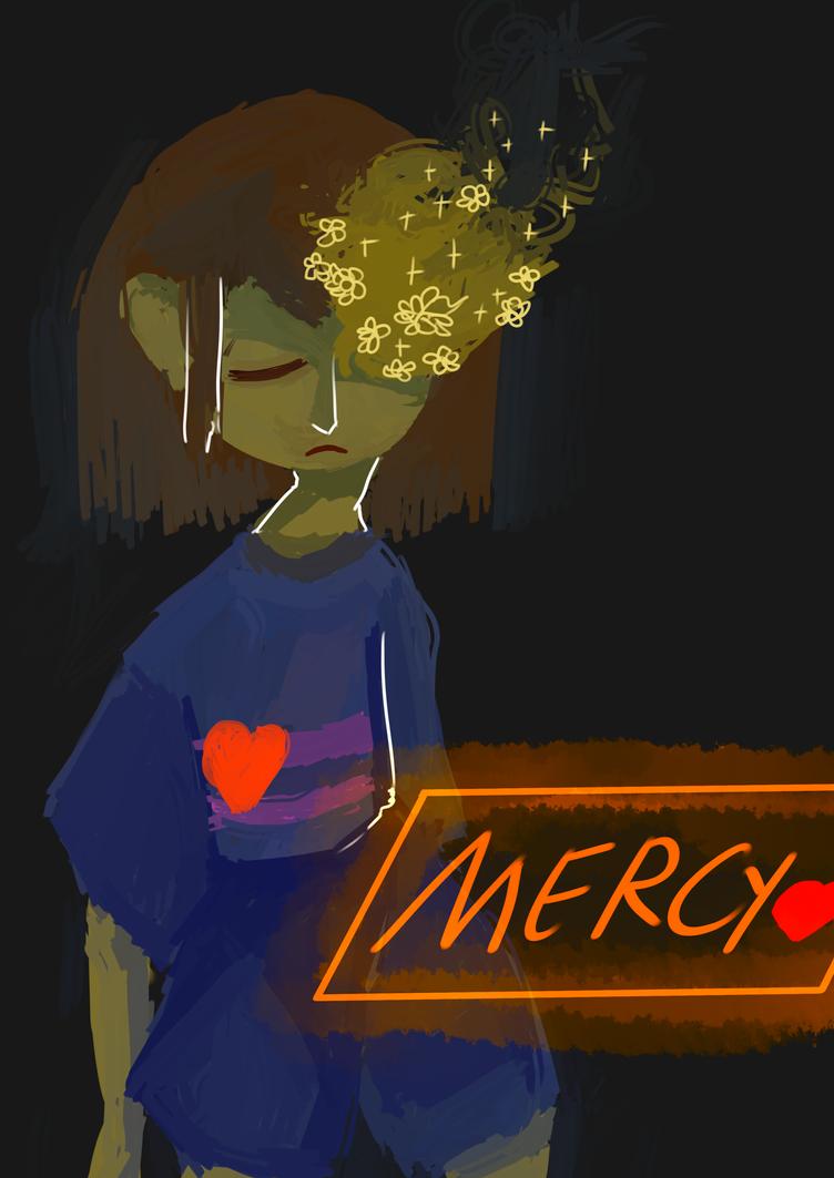 Frisk Mercy run by Zelda-muffins