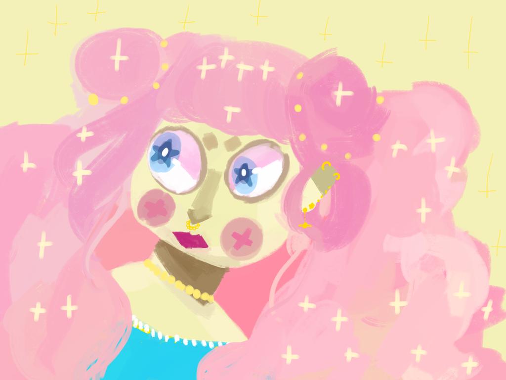 Pink Lady by Zelda-muffins