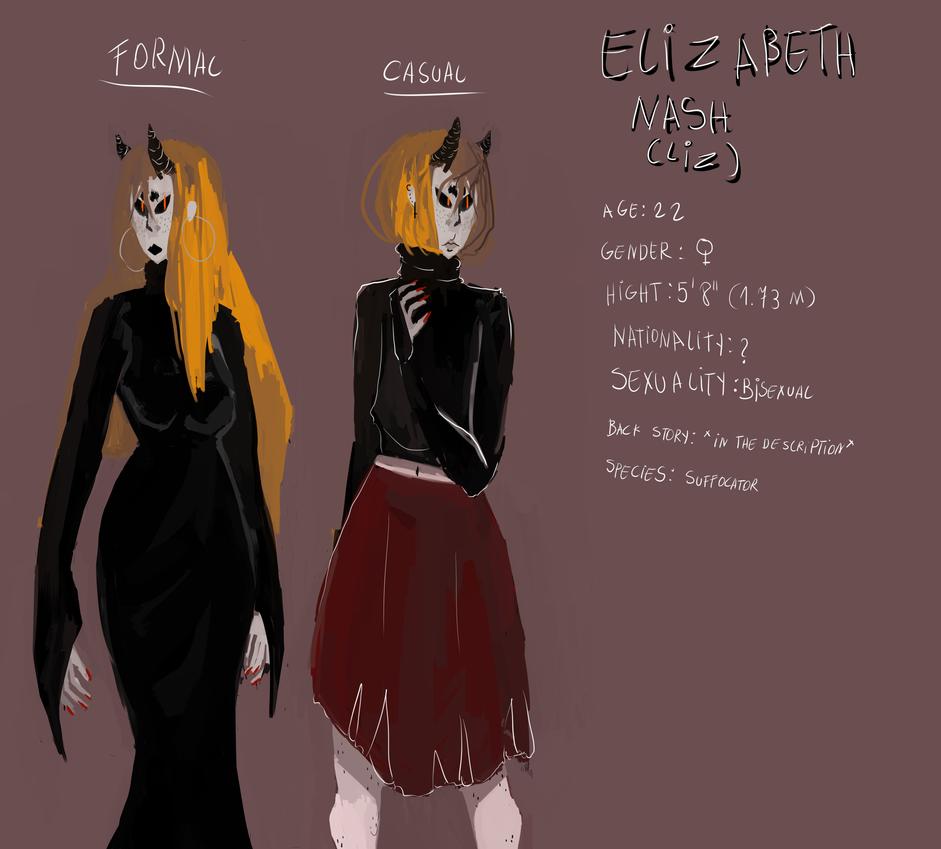 Liz redesign {Read the description} by Zelda-muffins