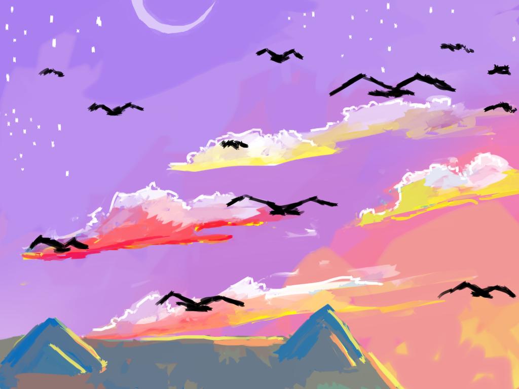 sunset by Zelda-muffins
