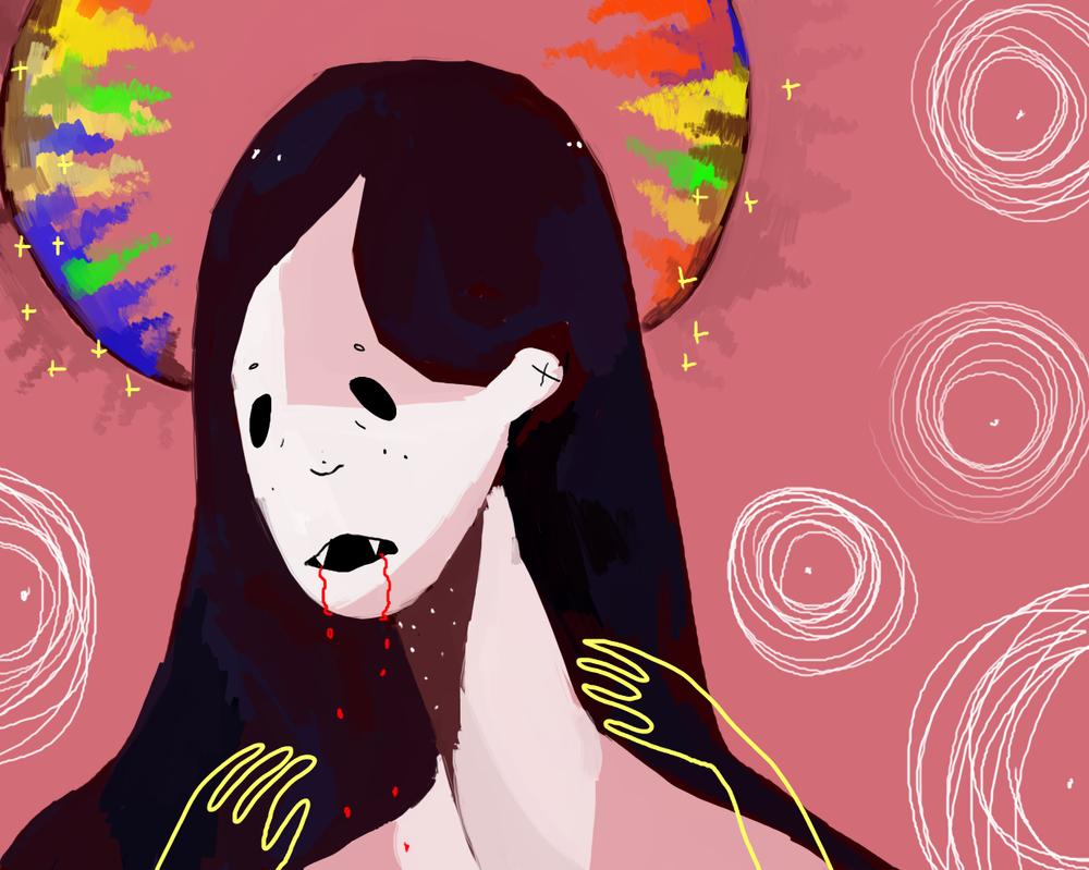 Marceline The Vampire queen by Zelda-muffins