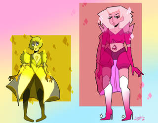 PD and YD personality swap (+Speed paint) by Zelda-muffins
