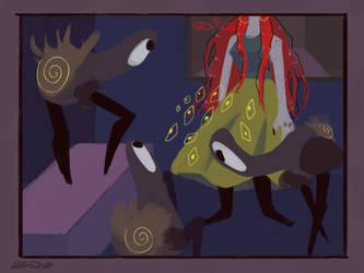Ghosts by Zelda-muffins