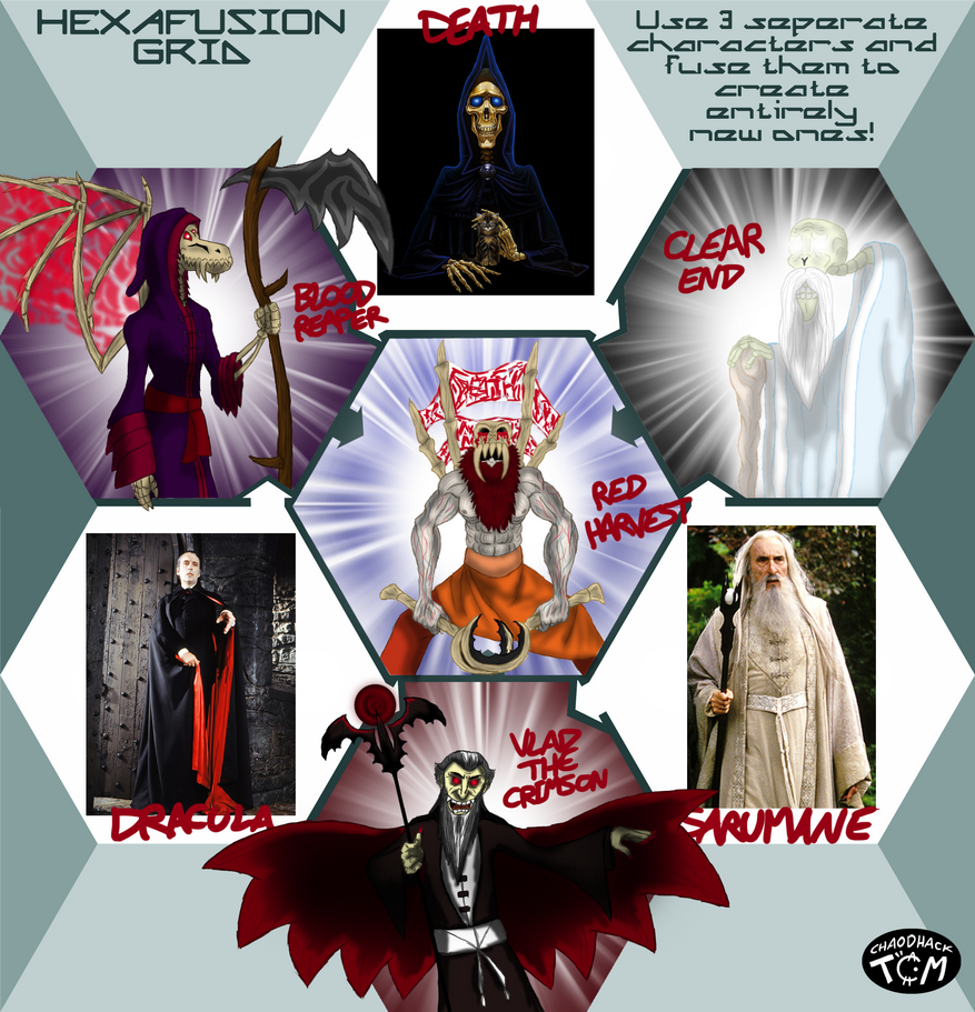 Hexafusion Special Hommage Christopher Lee by Kaitoraikan