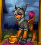 Blood Wolf by Samum41
