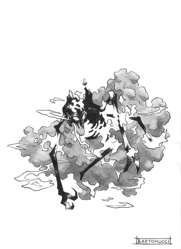 Hound of Tindalos by Lord-Nyarlathotep