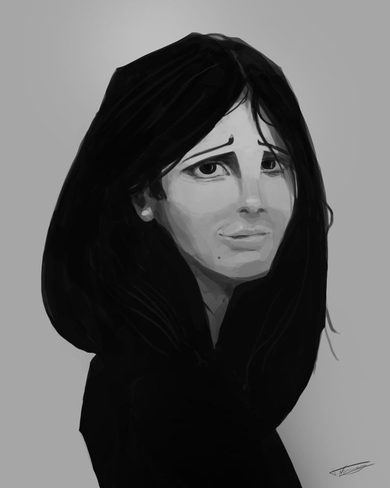 Random Paint - Girl 1 by 7heKro