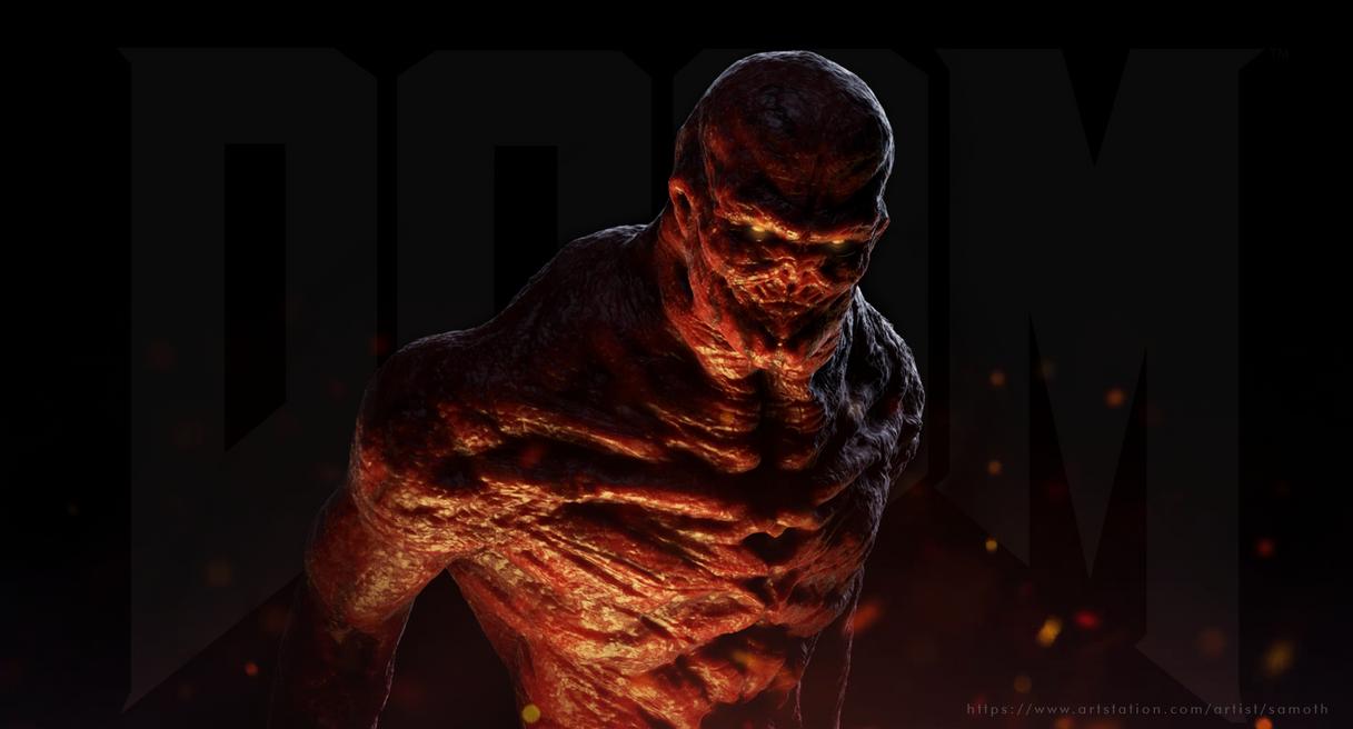 DOOM inspired creature by 7heKro