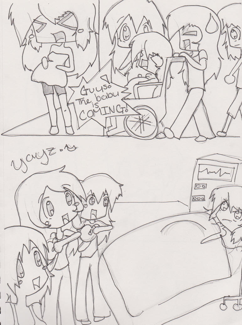 Pregnancy comic 4 by IllusionsDreams on DeviantArt
