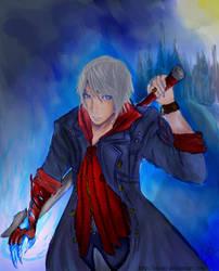 DMC4:BLUE Devil by Siaray