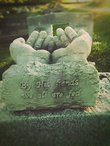 A beautiful fall afternoon at a cemetery. by CindyLouWhoXox