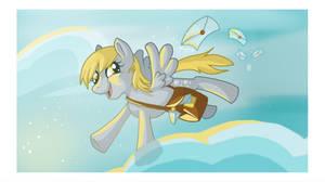 The Best Darn Mail Pony by Keyframe-Pop