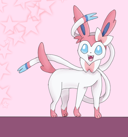 Sylveon by PlottingYourDemise