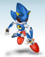 Smashified: Metal Sonic by Atlas-Divide