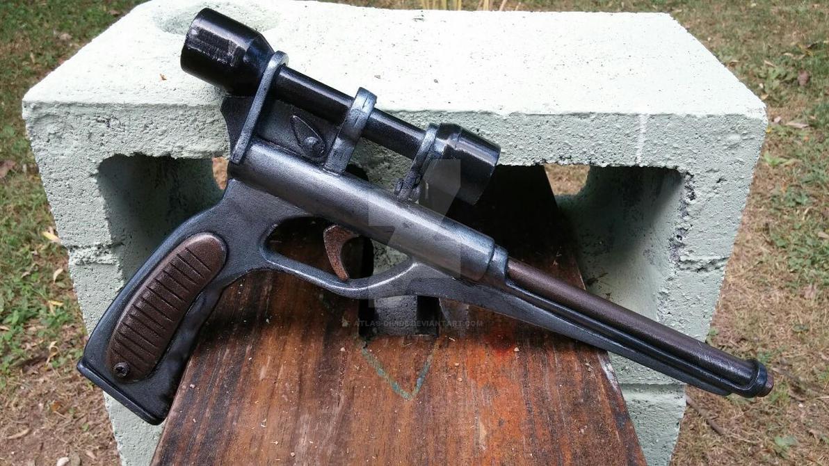Cad Bane S Gun By Atlas Divide On Deviantart